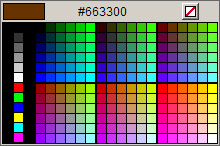 Click to view Javascript color picker screenshots